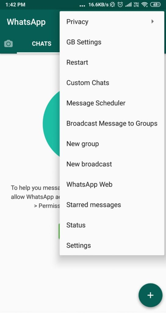Gbwhatsapp Apk Download V17 10 0 Updated Official August 2021 Anti Ban