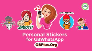 Personal Stickers For GBWhatsApp APK