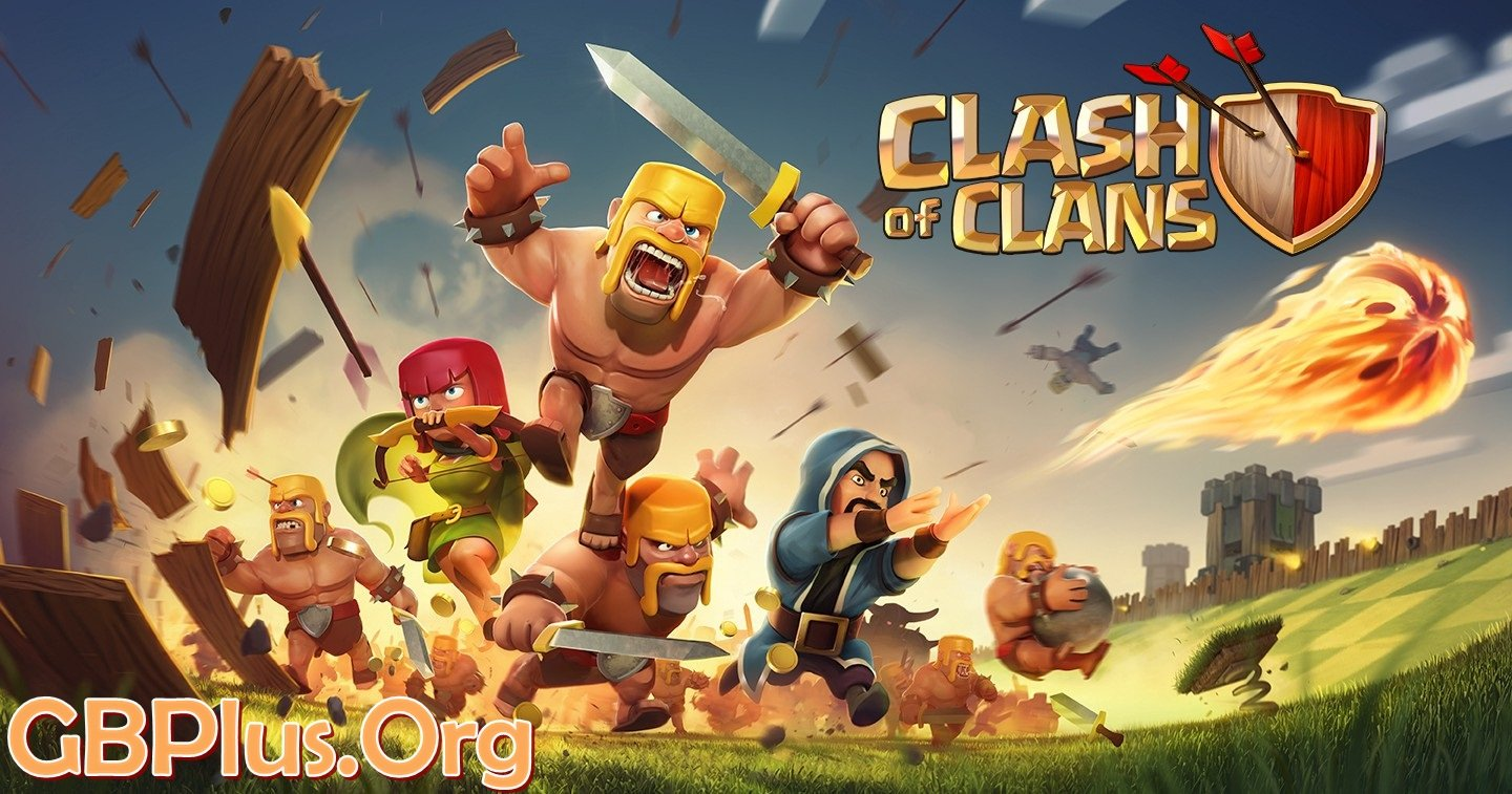 Clash of Clans Apk 13.675.22 (Unlimited Troops/Gems) Android Mod