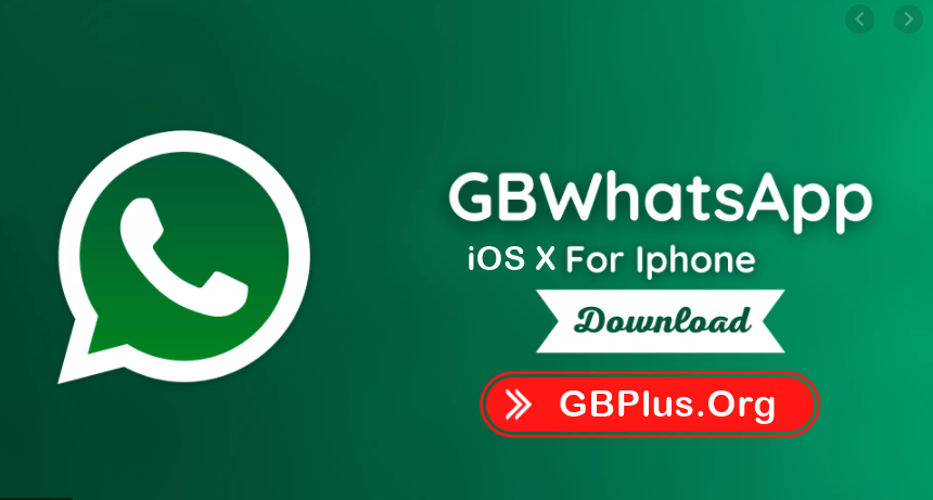 GBWhatsApp iOS X Apk Download 6.0 For IOS/iPhone